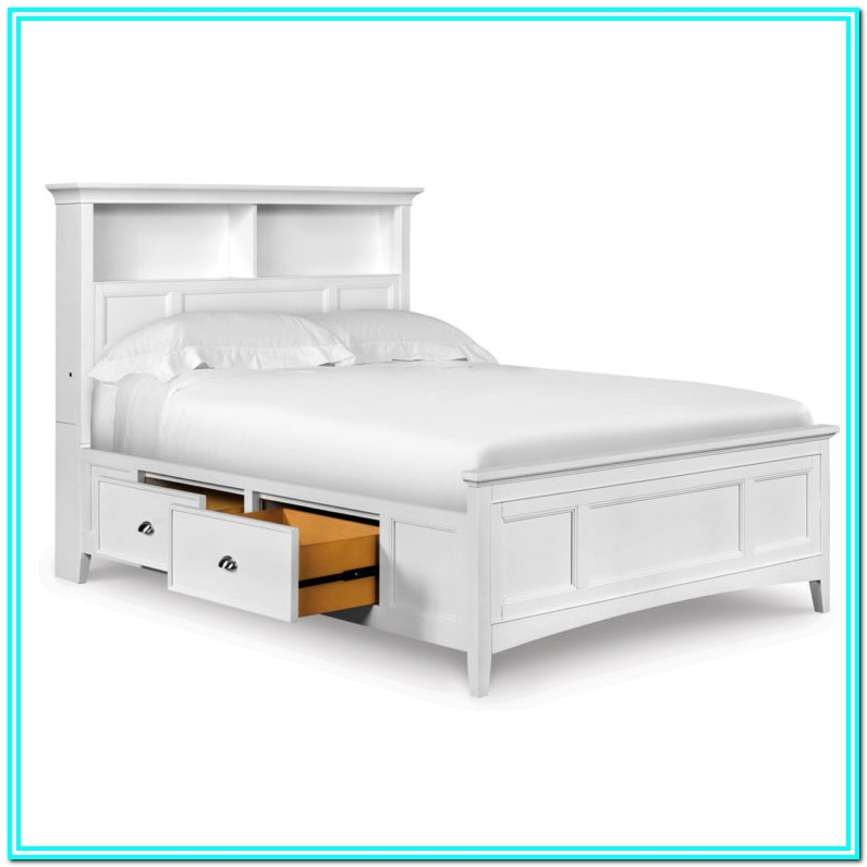 Full Size Platform Storage Bed Plans