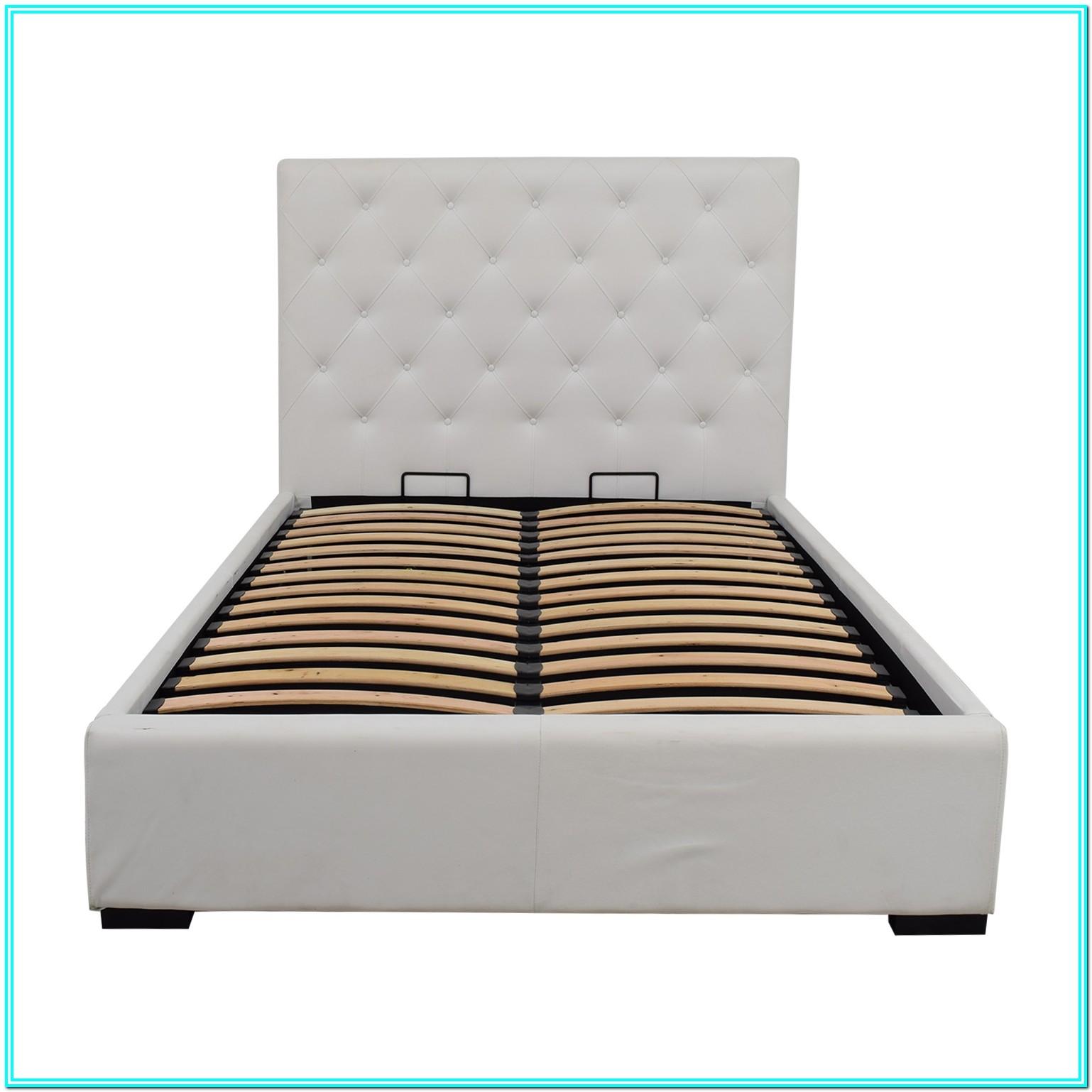 Full Size Storage Bed White