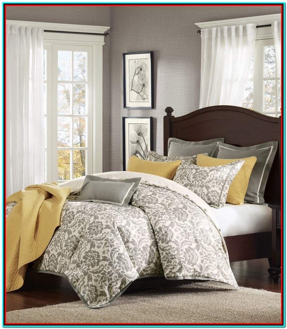 Grey And White King Bedding Sets