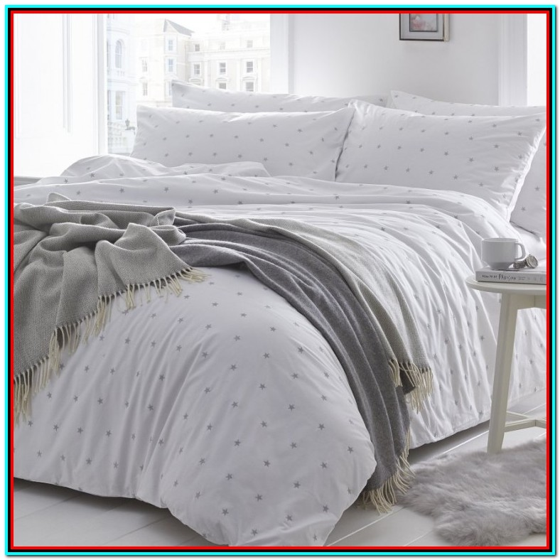 Grey And White Single Bedding Sets