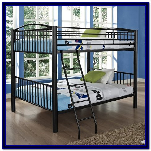 Heavy Metal Full Over Full Bunk Bed