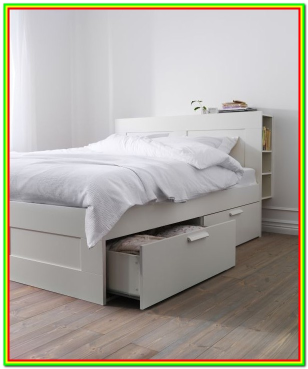 Ikea Bed Frame With Storage And Headboard
