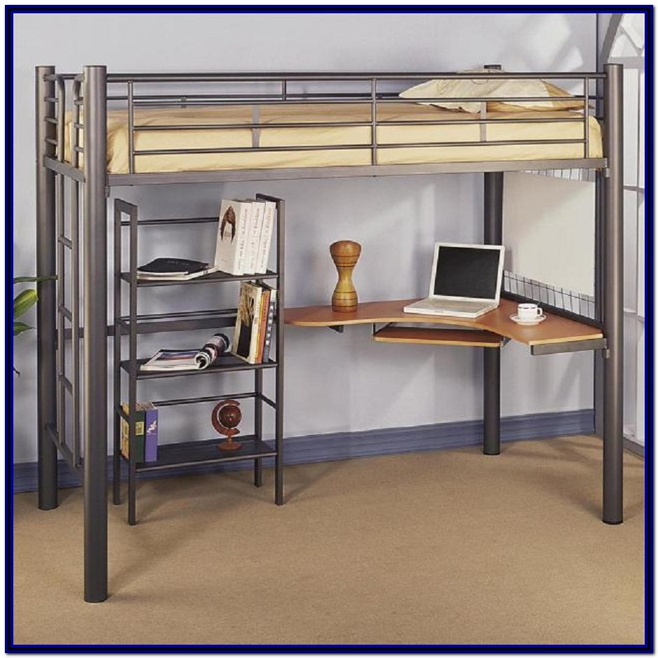 Ikea Bunk Bed And Desk