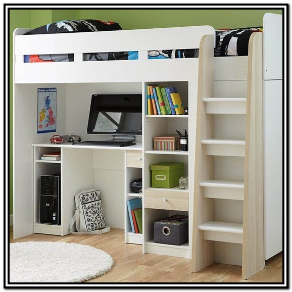 Ikea Bunk Bed With Desk And Wardrobe