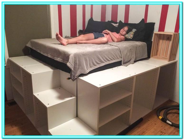 Ikea Platform Bed With Storage Diy