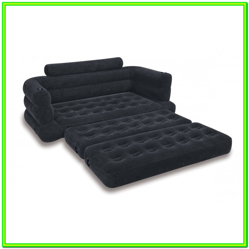 Intex Pull Out Sofa & King Size Bed Mattress