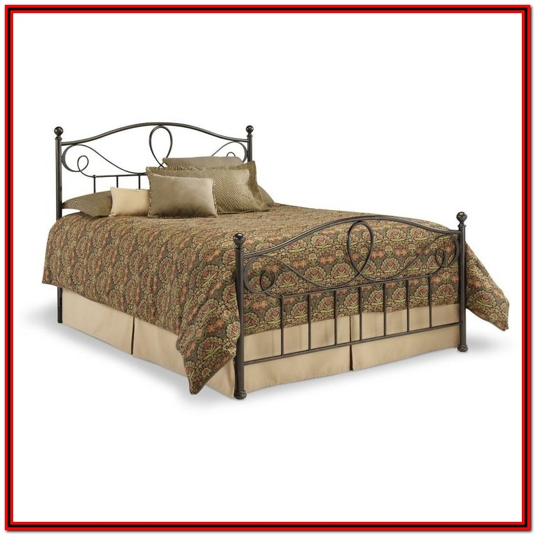 King Bed Frame With Headboard And Footboard Brackets
