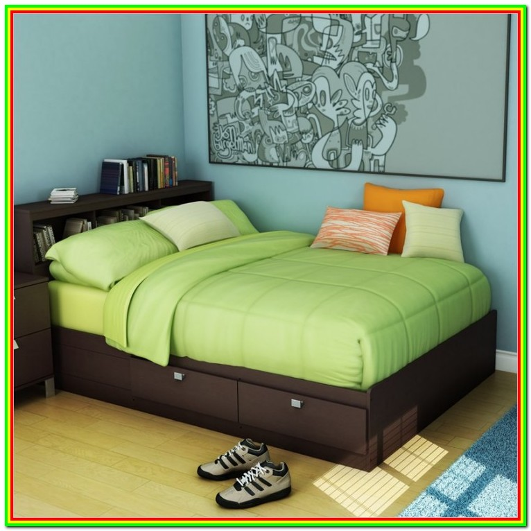 King Bed Frames With Storage Canada