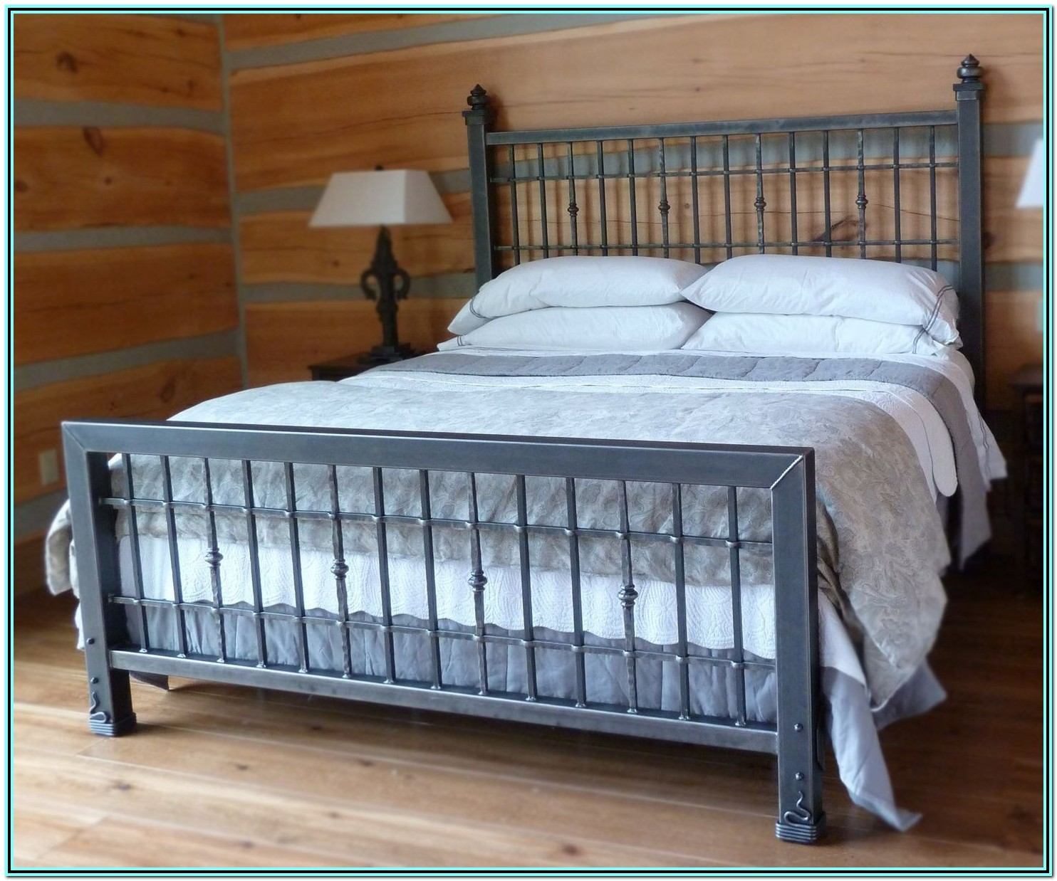King Size Bed Frame Dimensions Us