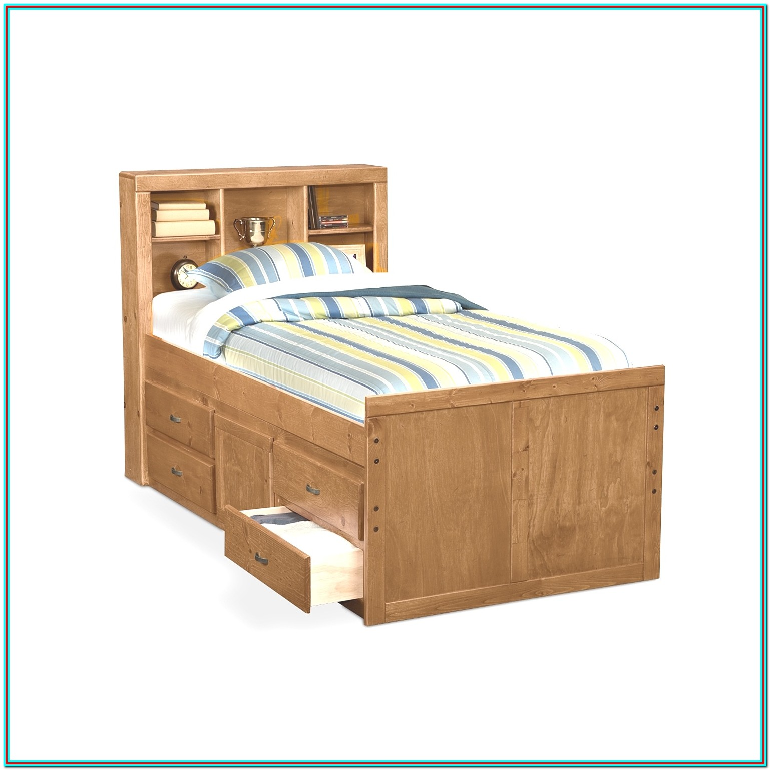 King Size Bed Frame With Drawers Underneath Plans