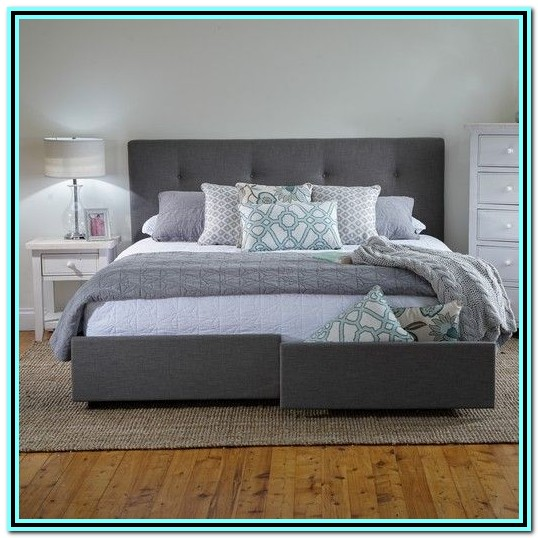 King Size Bed Frame With Storage Diy