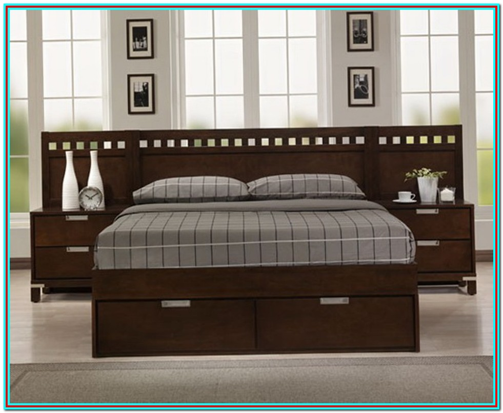 King Size Bed Frames With Headboard