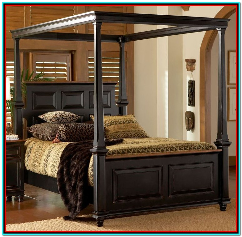 King Size Canopy Bed Dimensions