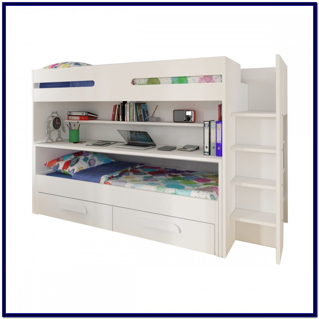 Loft Bed With Desk And Drawers