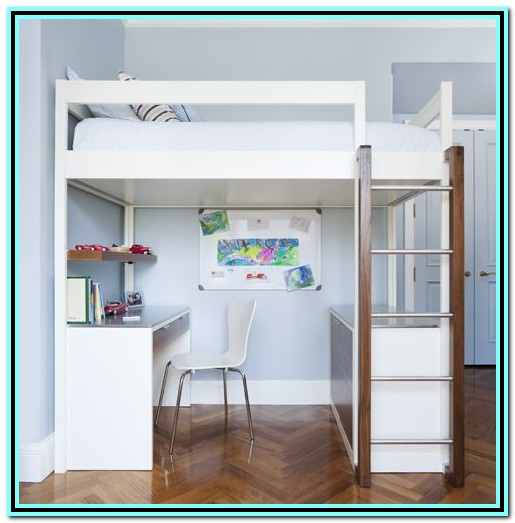 Loft Bed With Desk And Dresser Plans