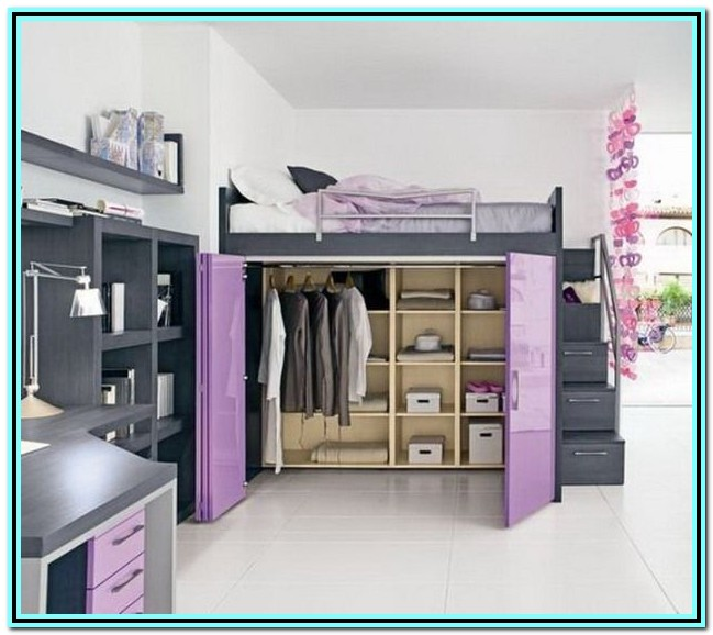 Loft Bed With Desk And Storage Nz