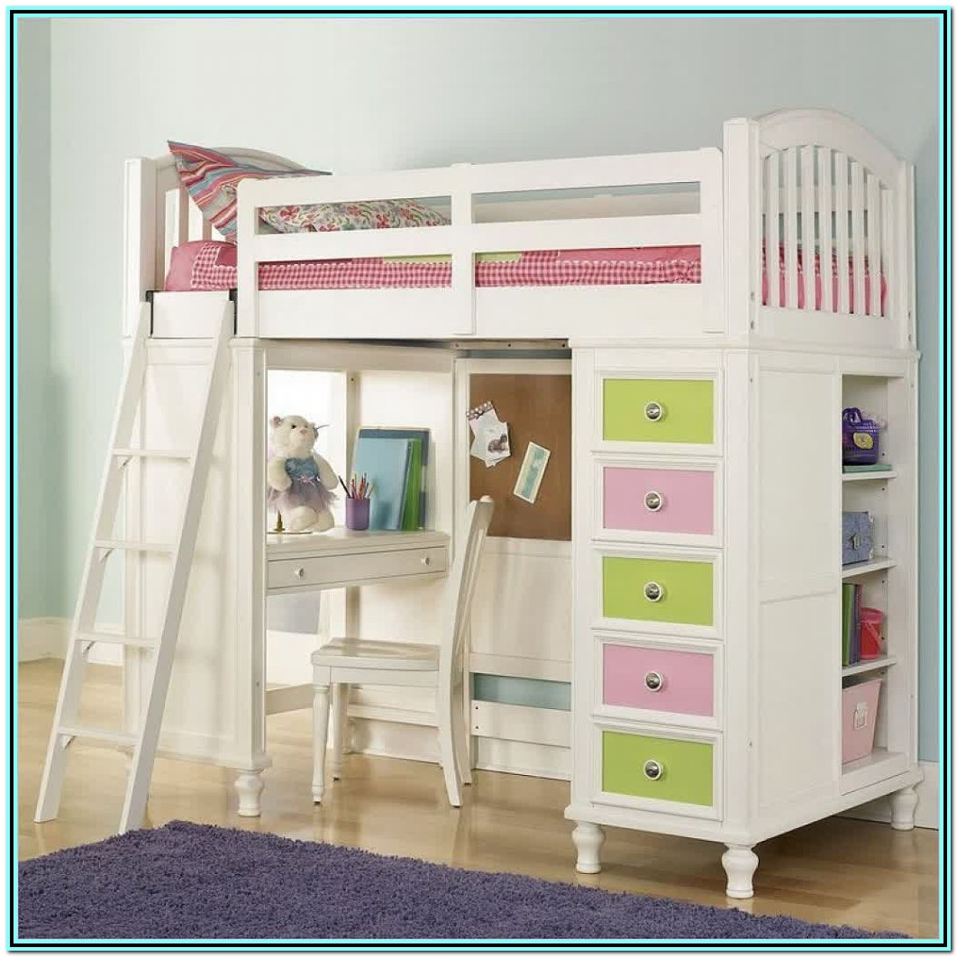 Loft Bed With Desk Ikea Canada