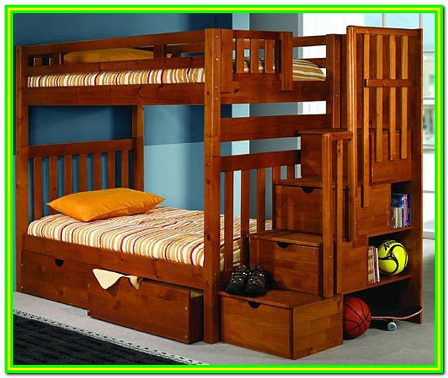 Loft Bed With Stairs And Drawers