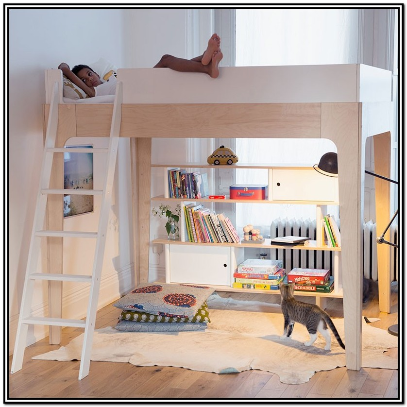 Loft Bed With Stairs Canada