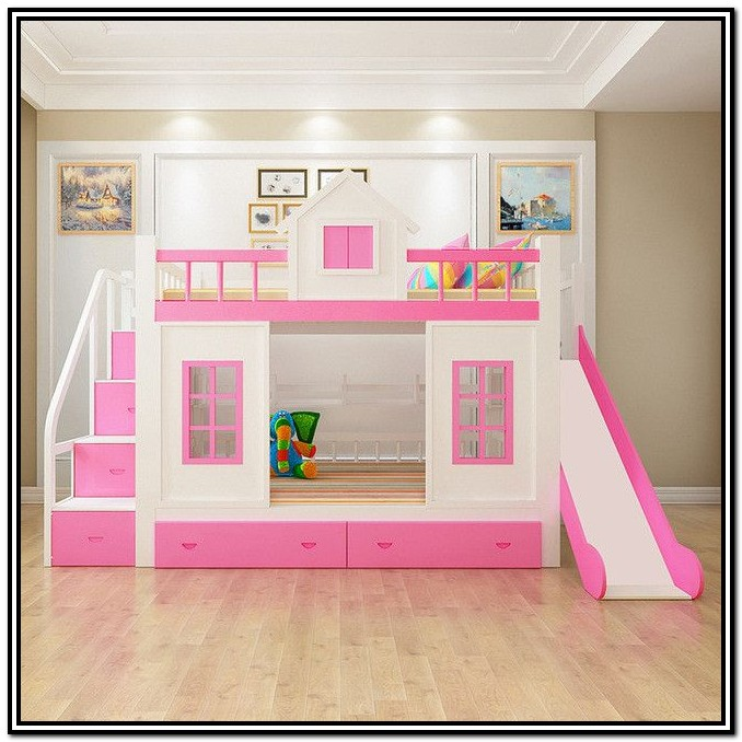 Loft Bed With Stairs Desk And Storage