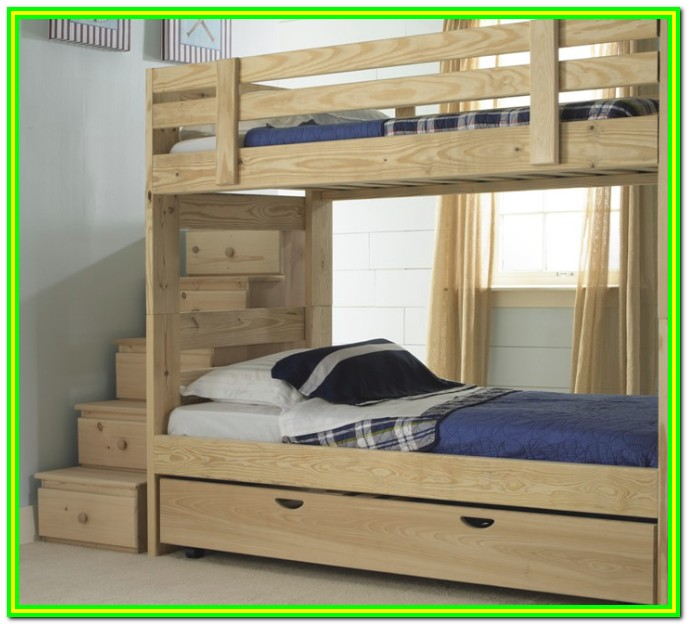 Loft Bed With Steps And Storage