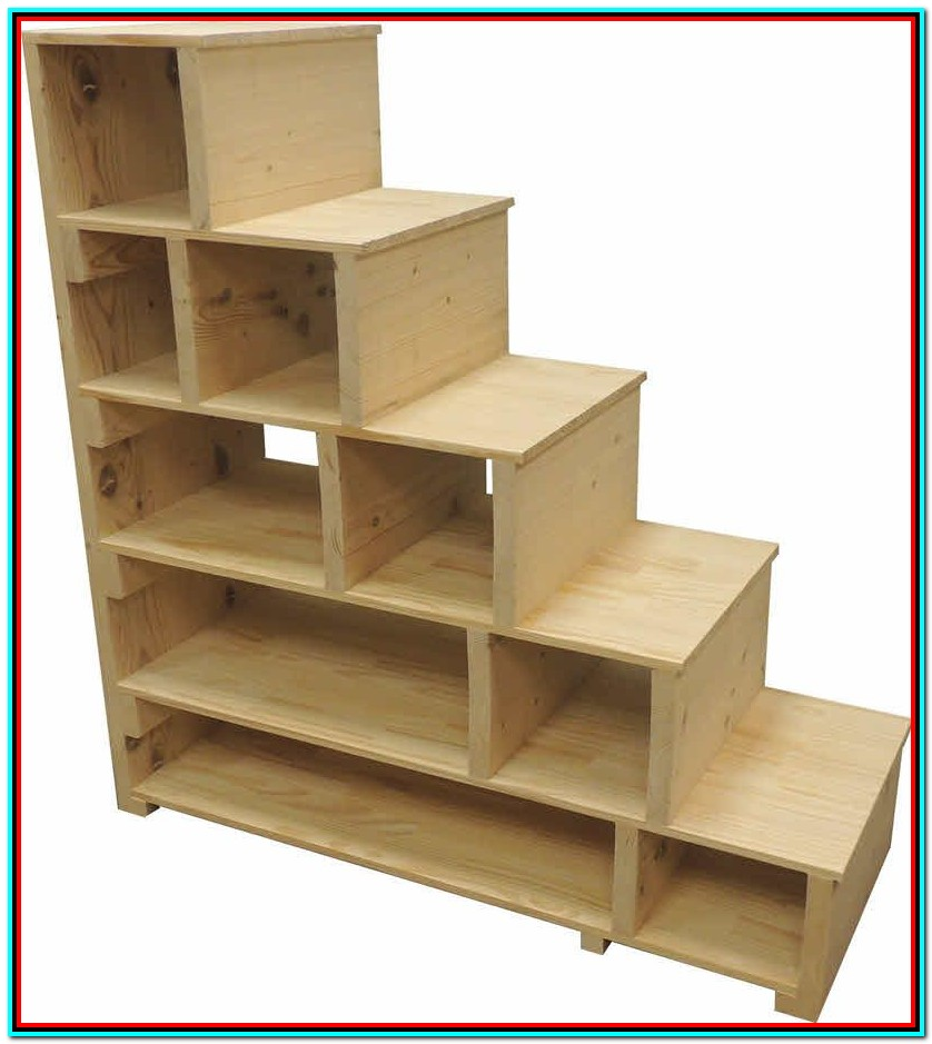 Loft Beds With Storage Stairs