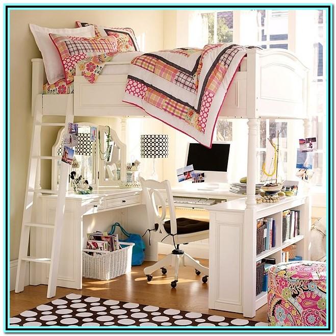 Loft Bunk Bed With Desk Plans