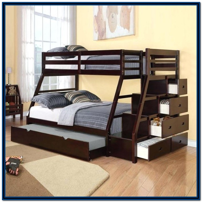 Low Bunk Beds With Stairs Uk