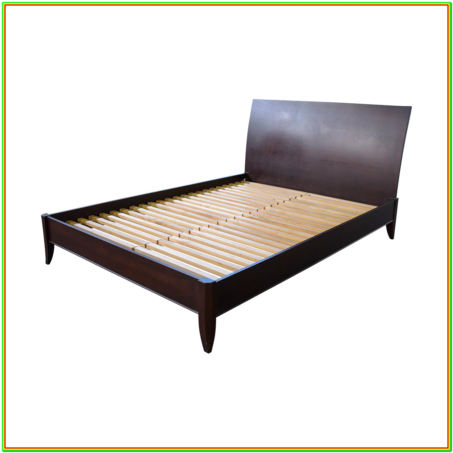 Platform Bed Frame Queen Wooden