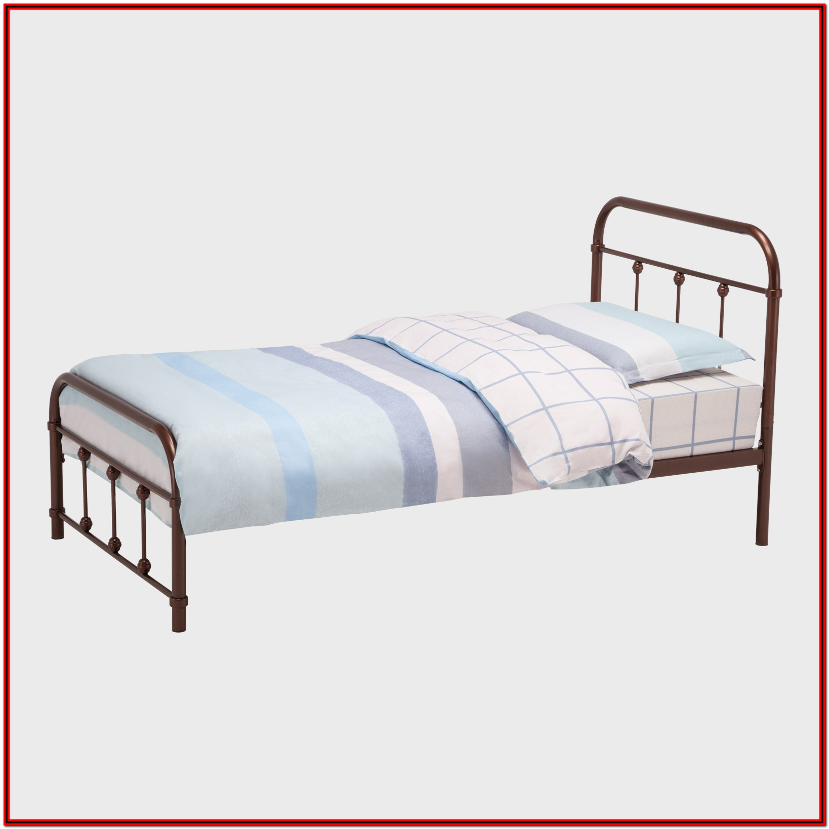Platform Bed Frame With Headboard Full