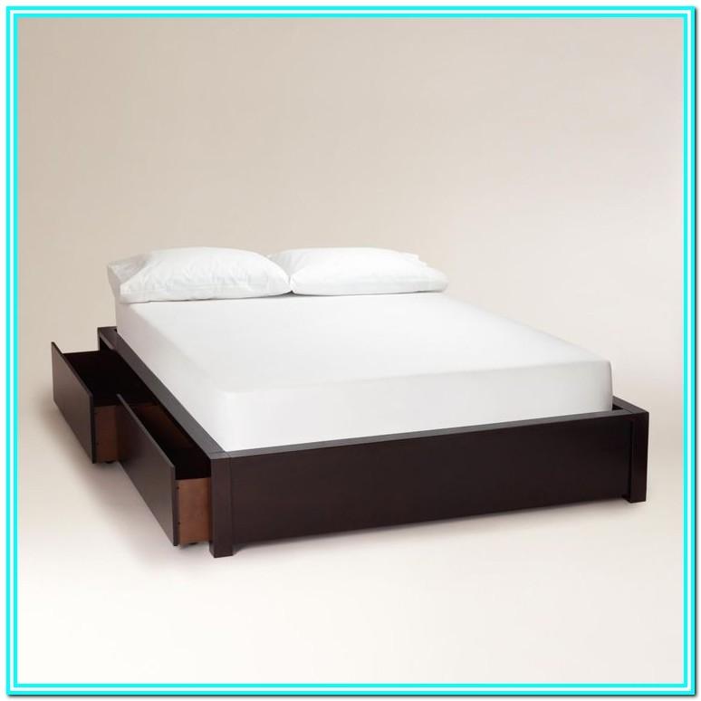 Platform Bed With Drawers Diy