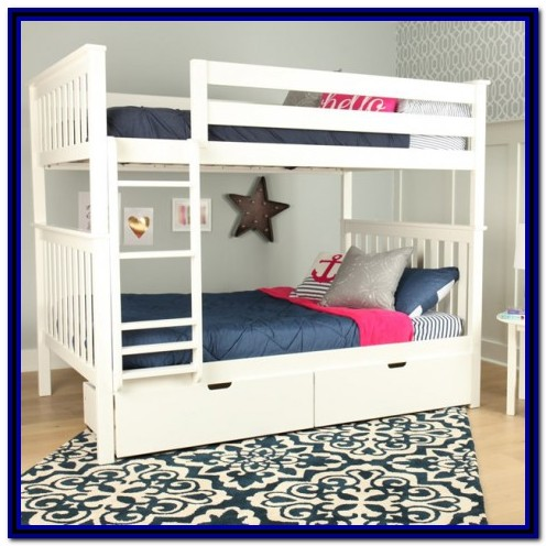 Real Wood Full Over Full Bunk Beds