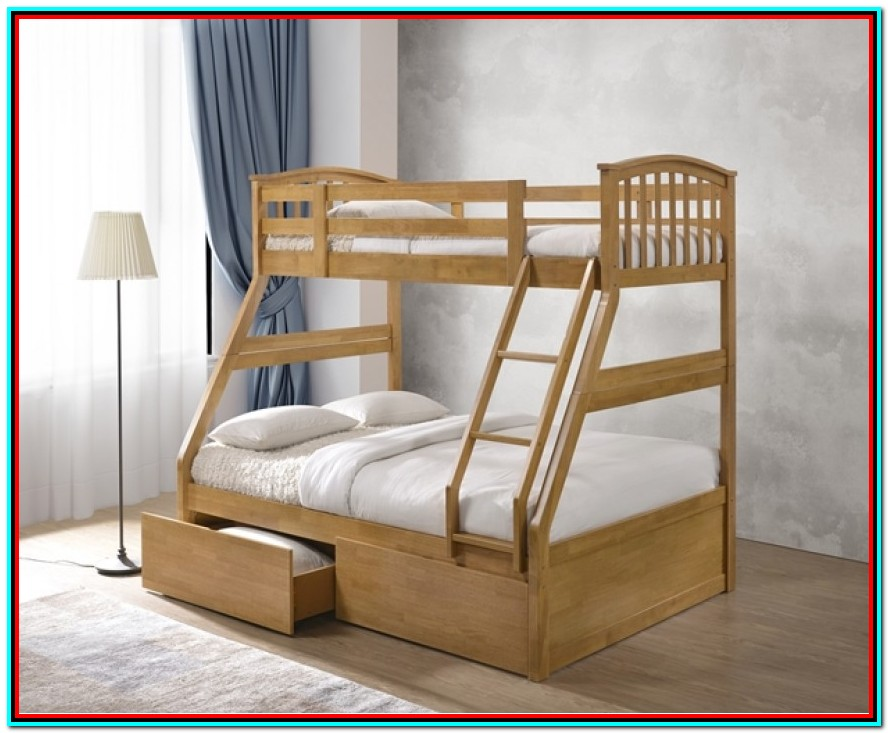Triple Bunk Beds With Storage Uk