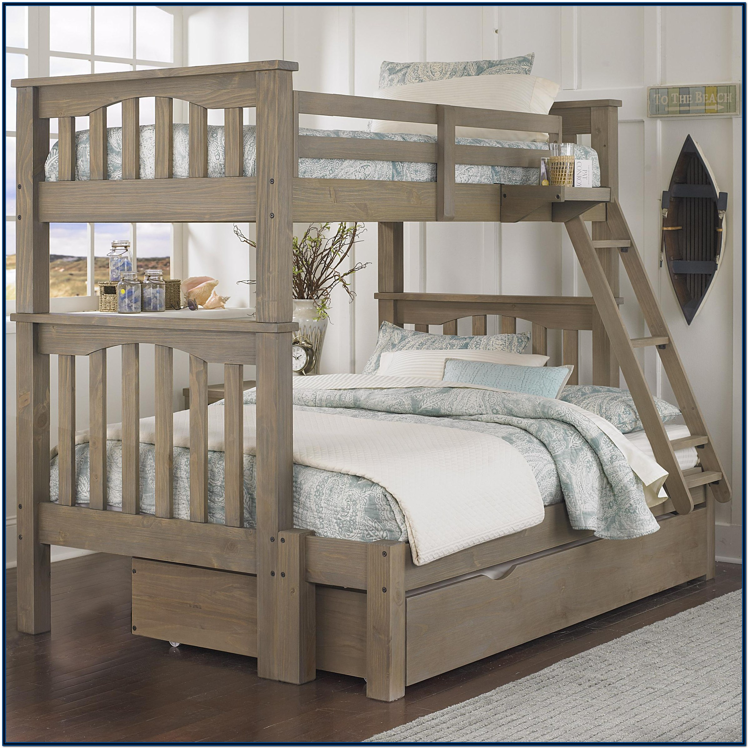 Twin And Full Bunk Bed With Trundle