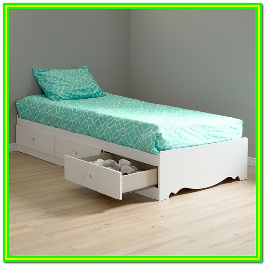 Twin Bed With Drawers Underneath Diy