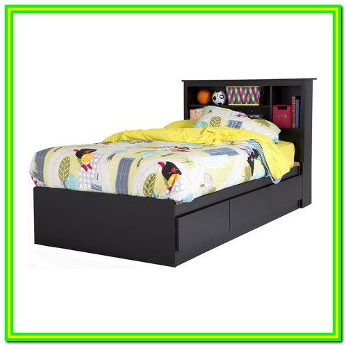 Twin Bed With Drawers Walmart