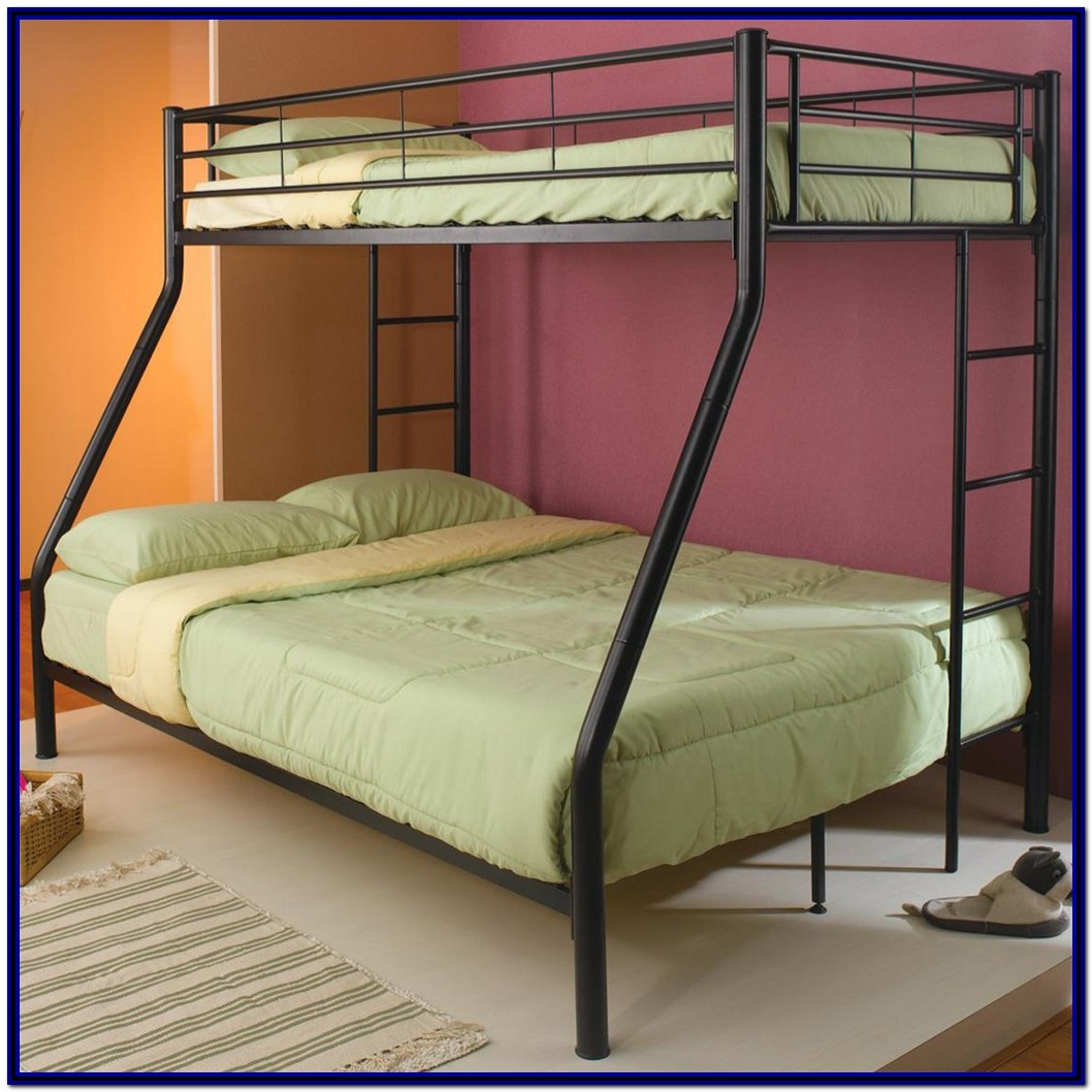 Twin Over Full Bunk Bed Metal Frame