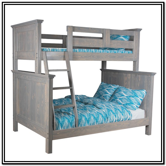 Twin Over Full Bunk Bed With Stairs Canada