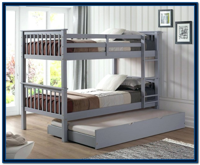 Twin Over Full Bunk Bed With Trundle Ikea