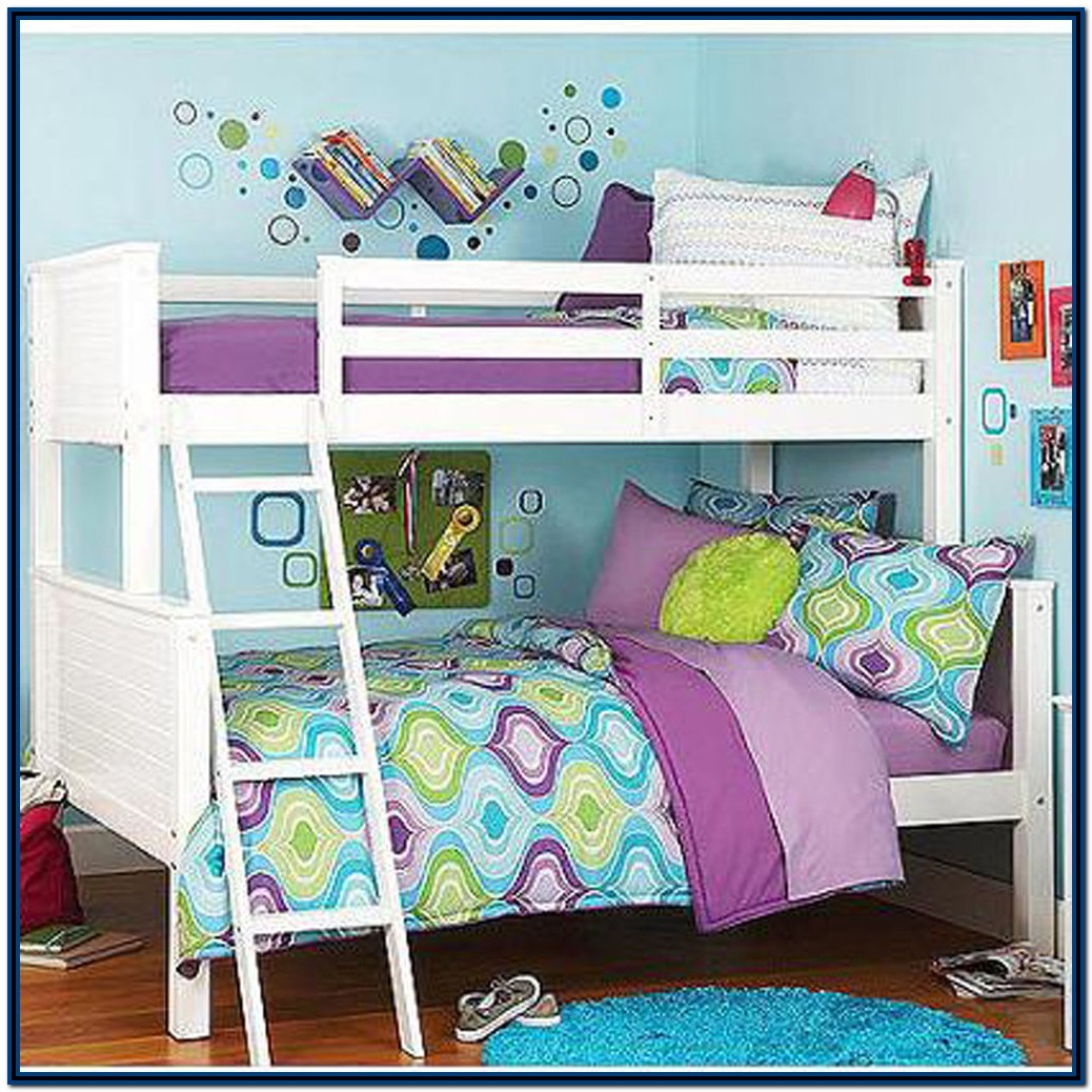 Twin Over Full Futon Bunk Bed Wood