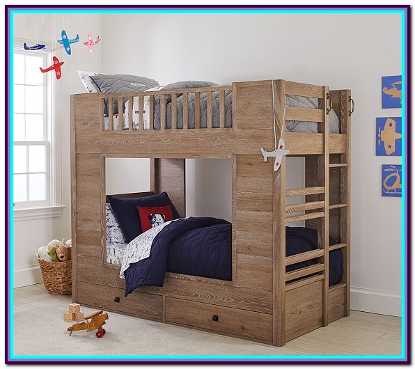 Twin Over Twin Bunk Bed With Trundle Walmar