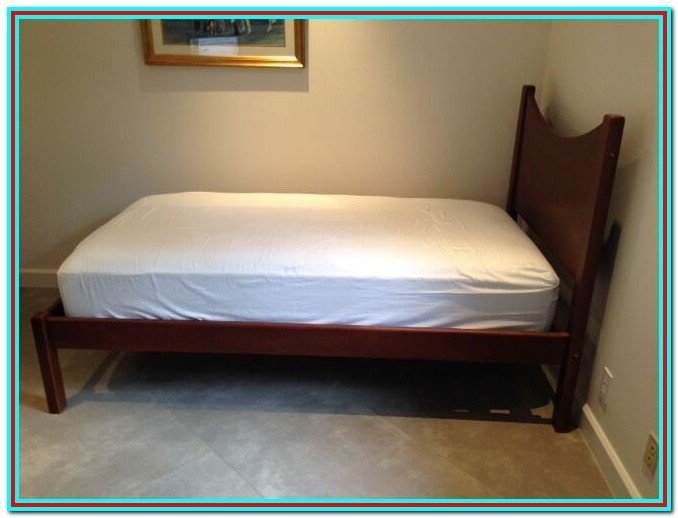 Twin Platform Bed With Mattress Included