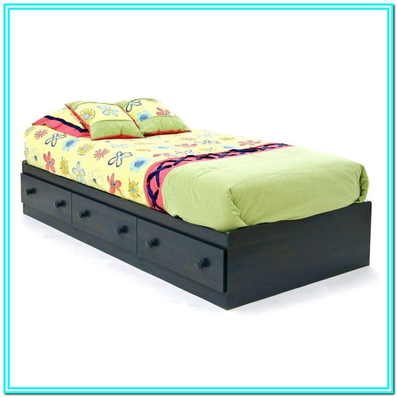 Twin Platform Bed With Storage Diy
