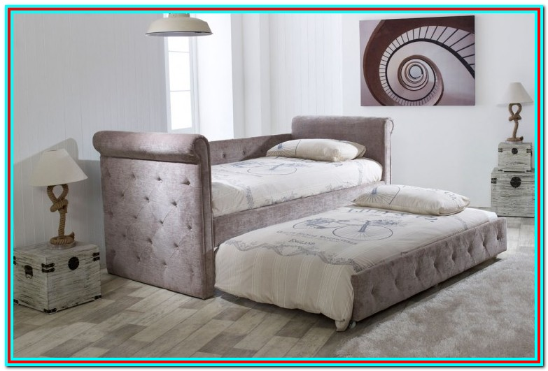 Twin Size Bed Frame With Mattress Included