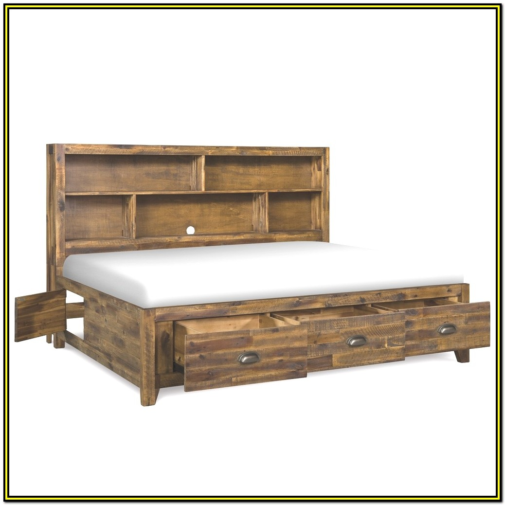 Twin Xl Bed Frame With Drawers