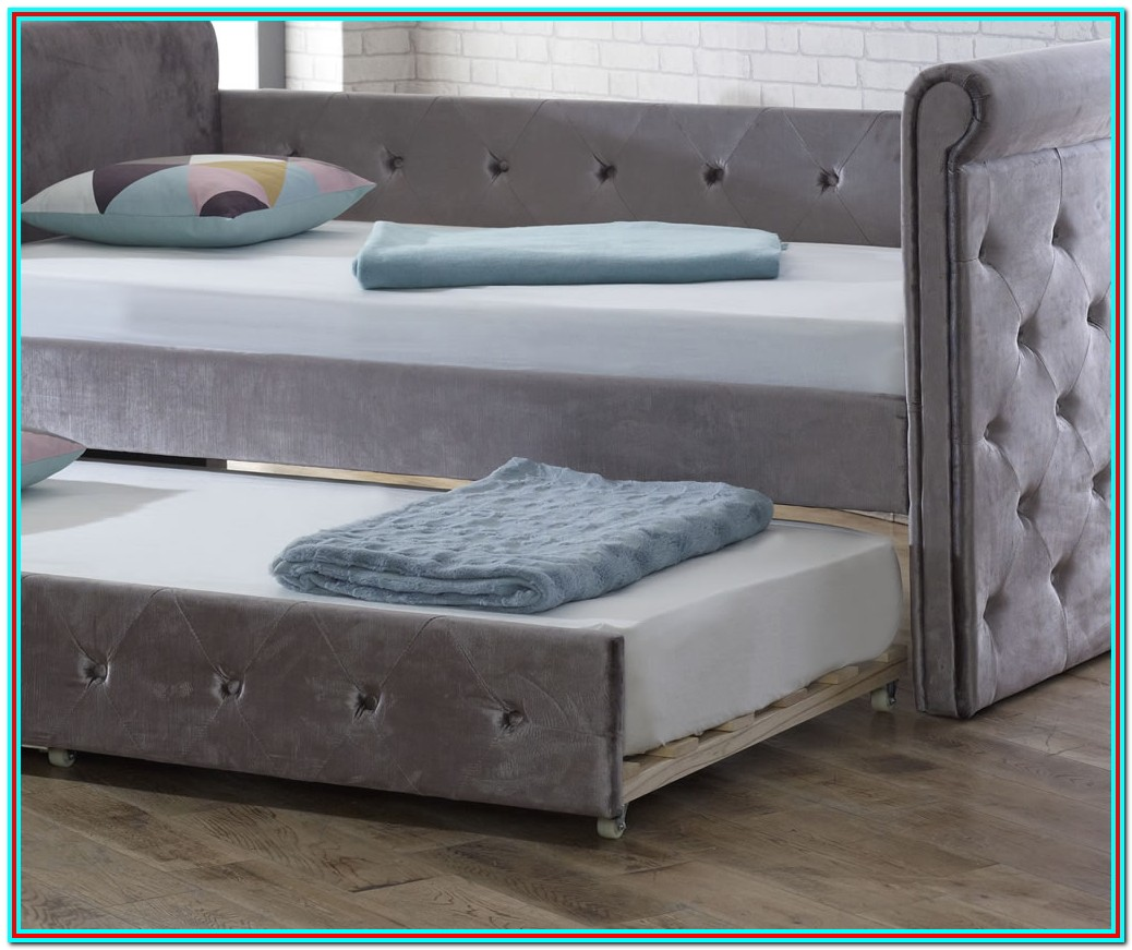 Upholstered Daybed With Trundle Uk