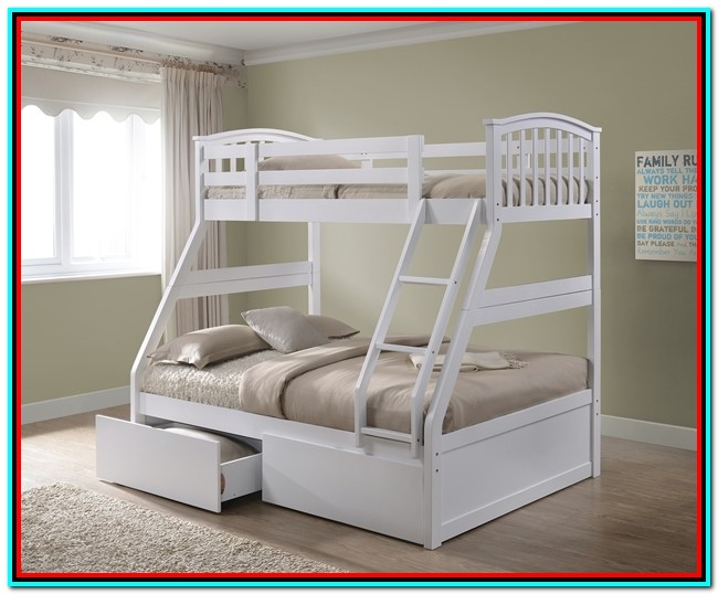 White Bunk Beds With Storage Uk