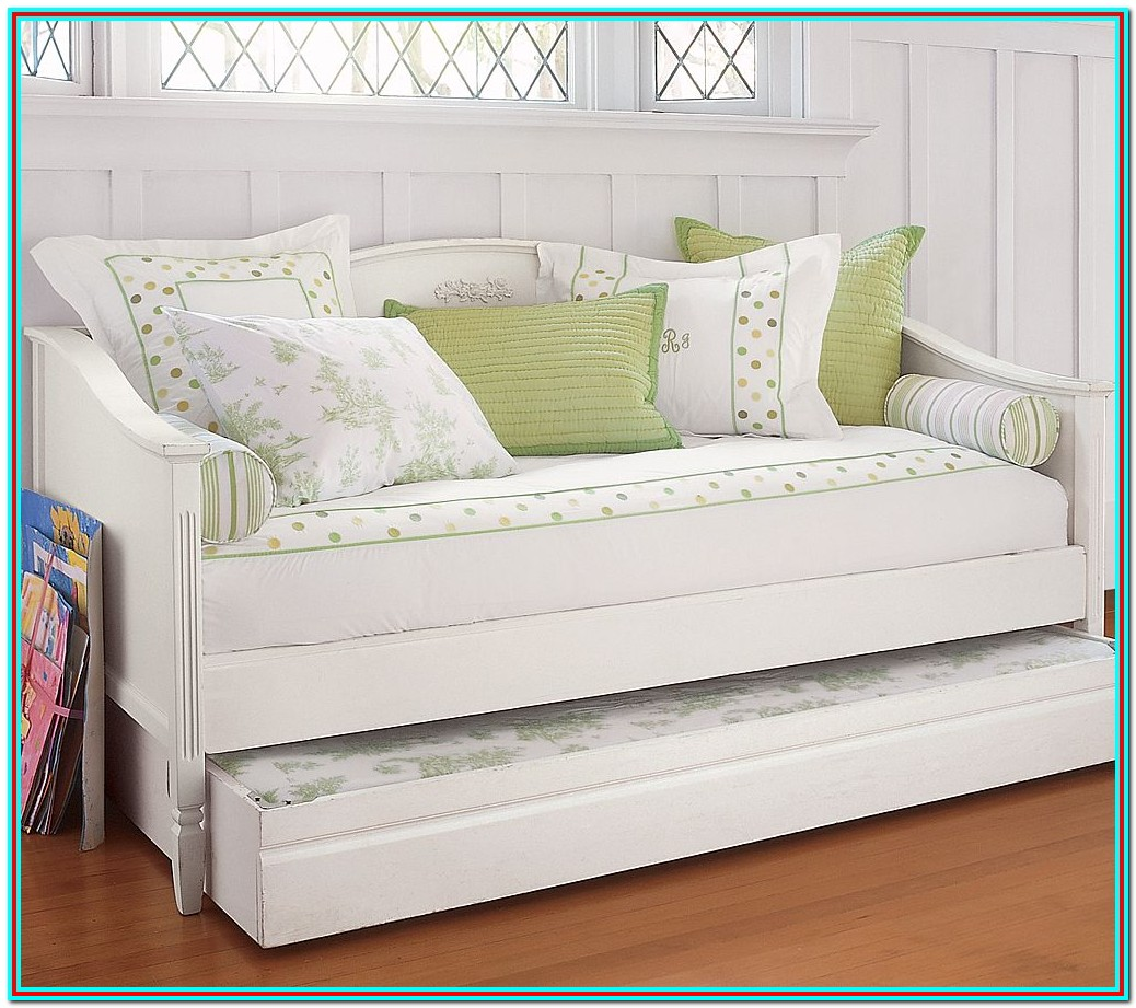 White Daybed With Trundle Ikea