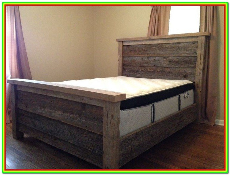 Wood Platform Bed Frame Queen Diy