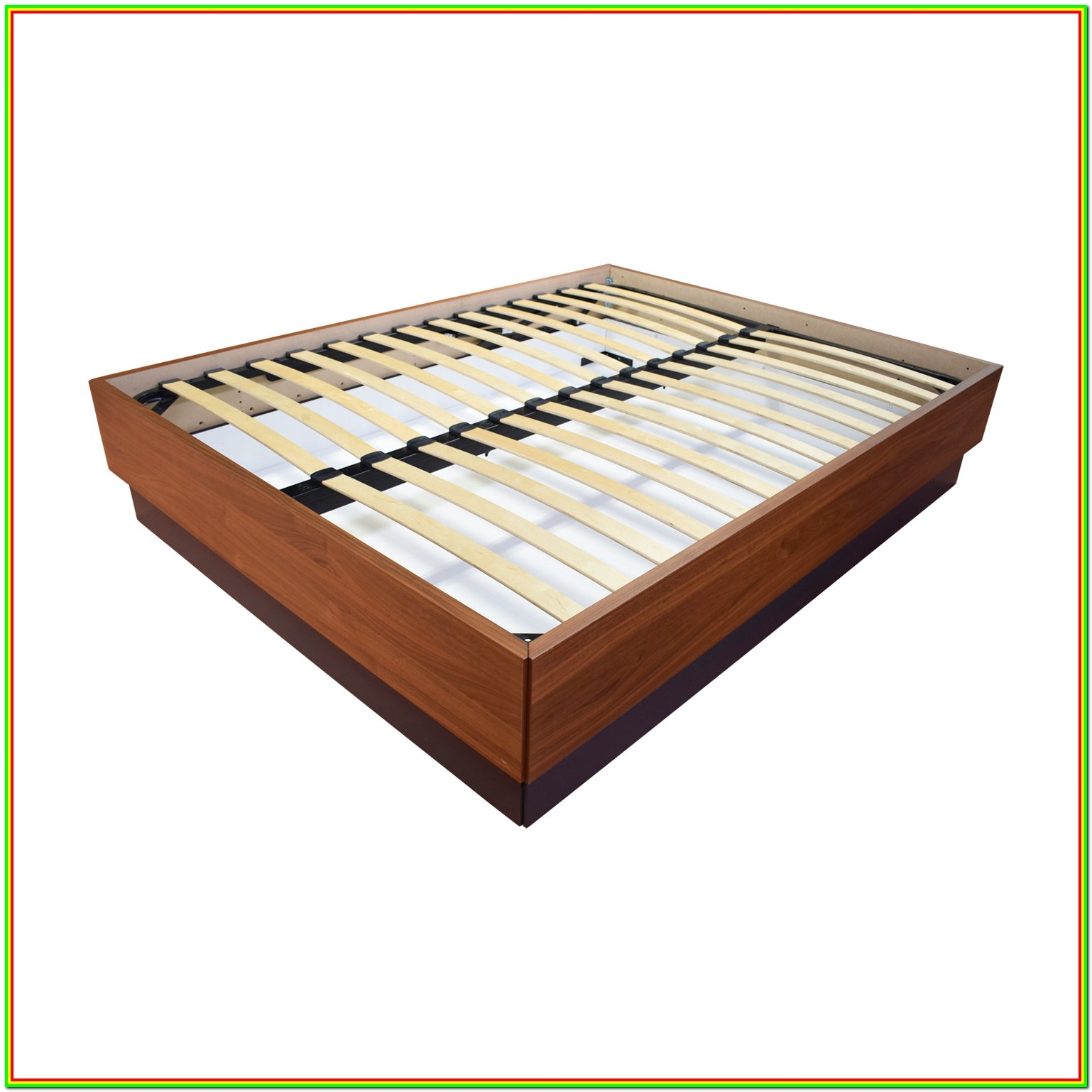 Wood Platform Bed Frame Queen With Storage